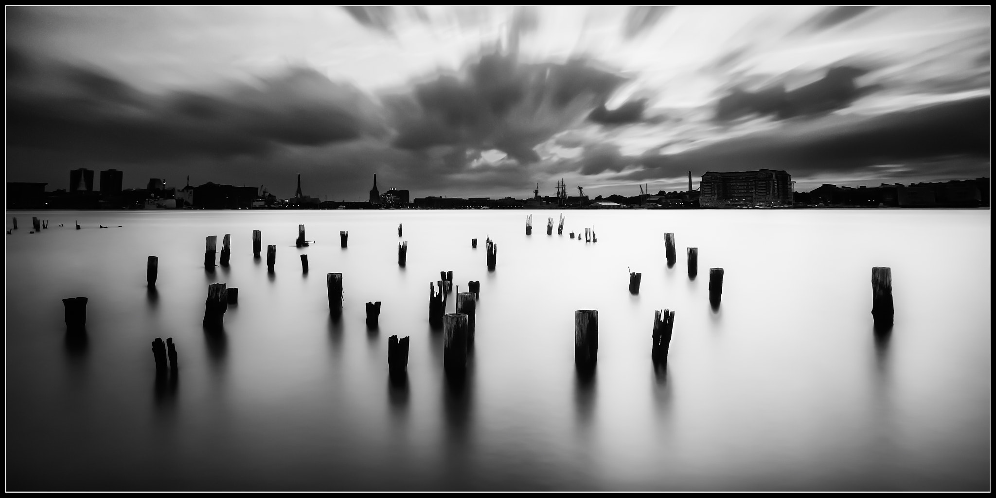 Photograph Old Dock in BW by Kerim Hadzi on 500px