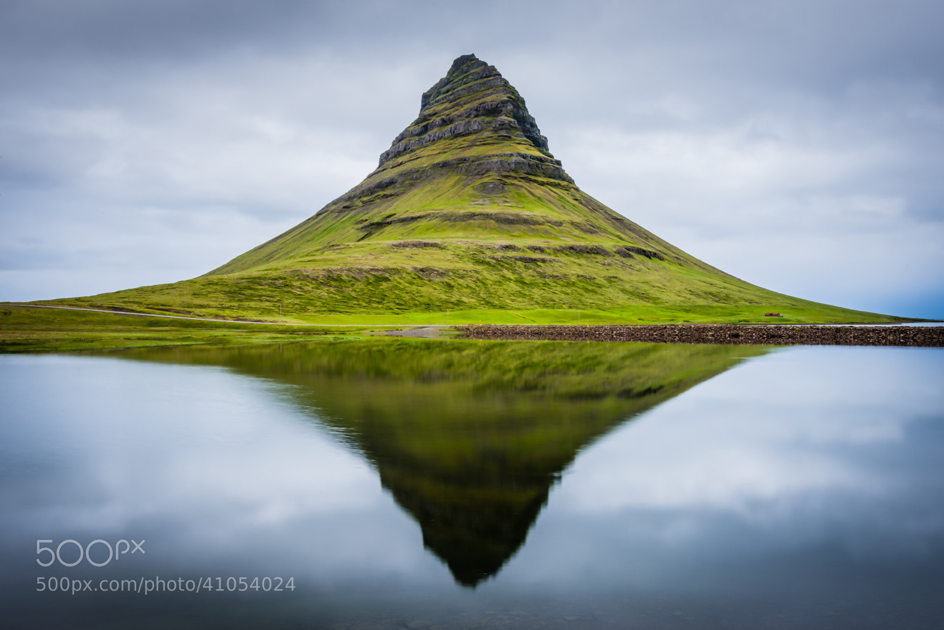 Photograph Reflective Kirkjufell by Simon Gelfand on 500px