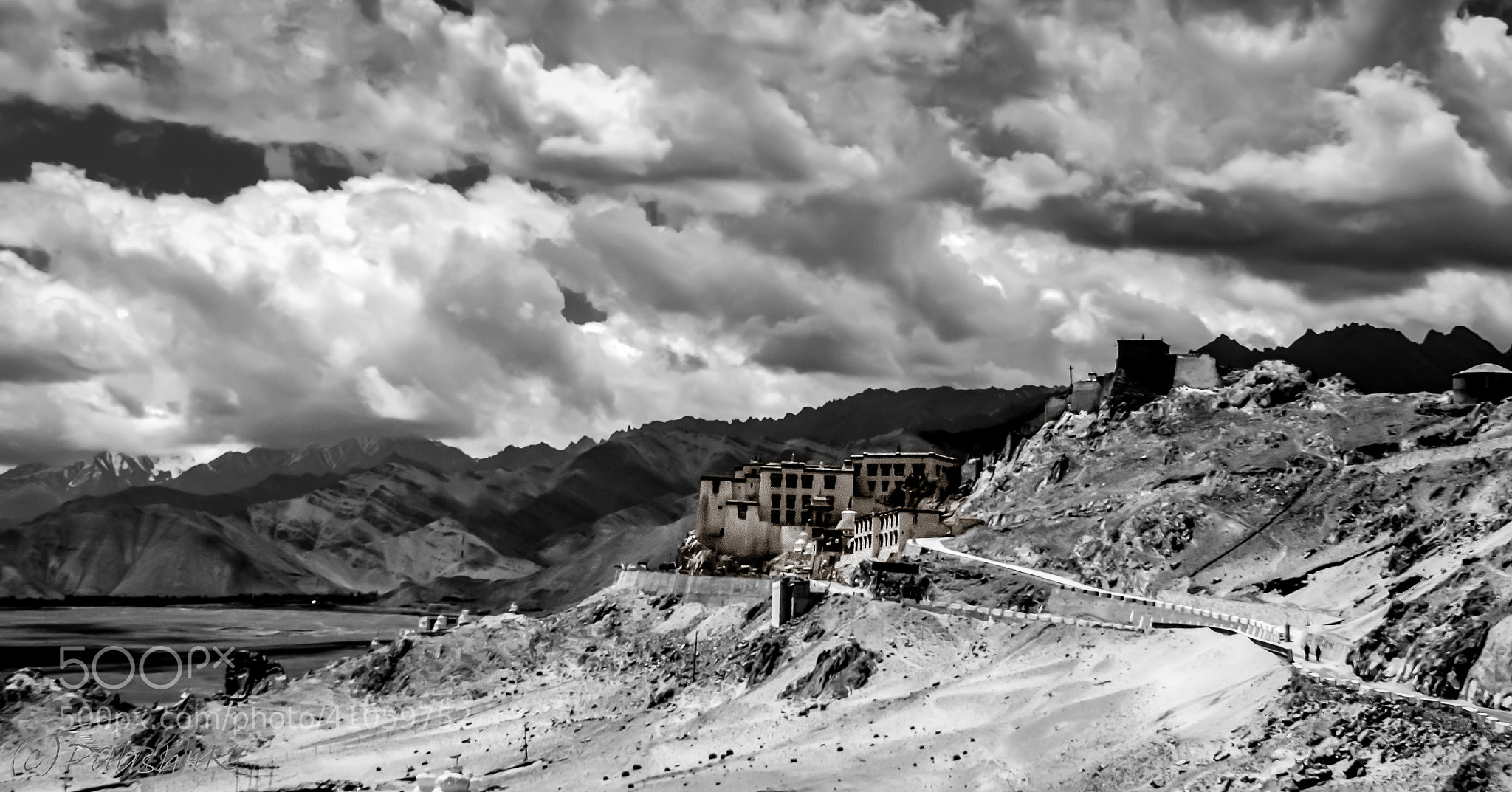 Photograph Spituk Monastery by Palash K on 500px