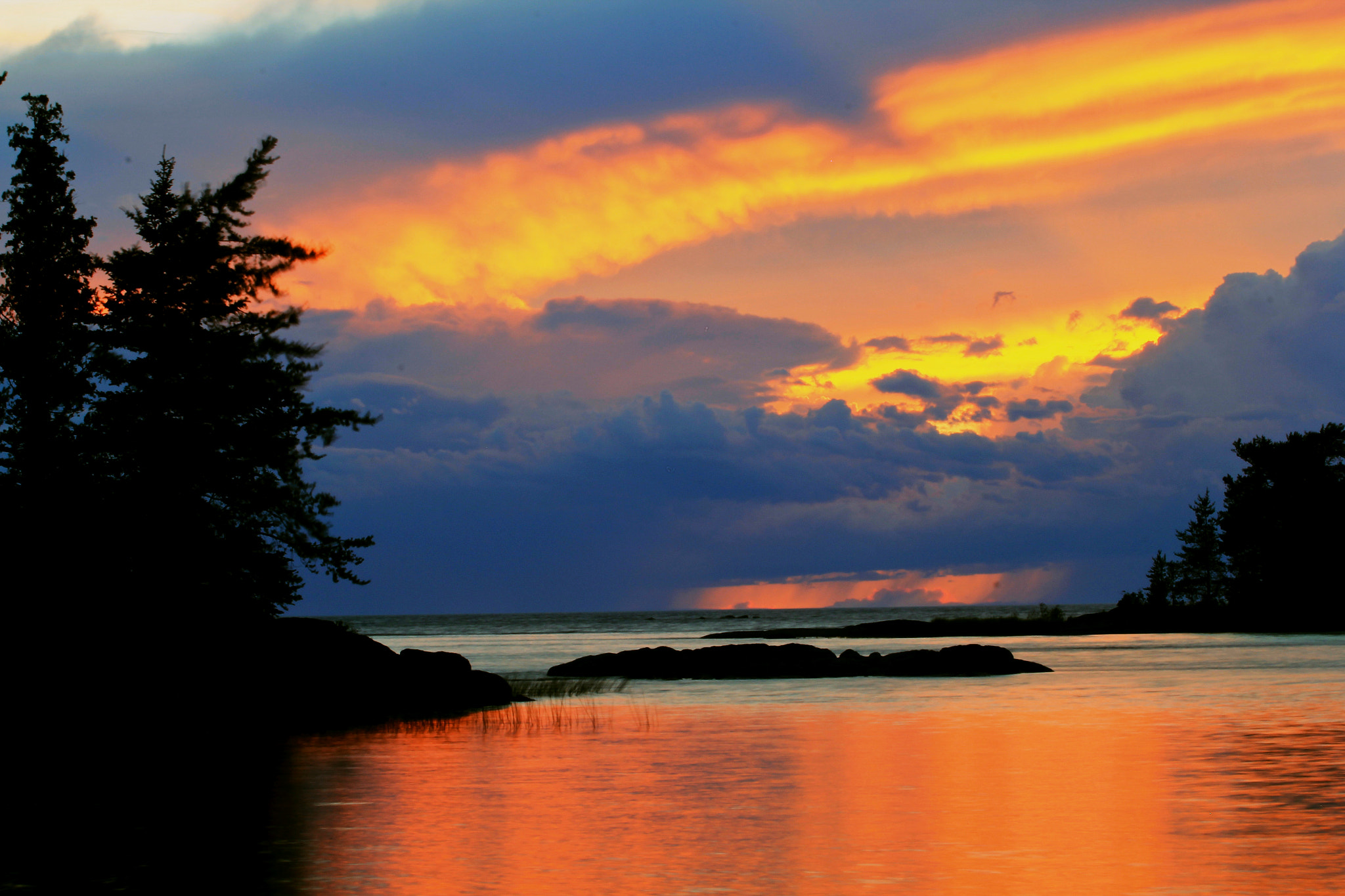 Photograph Sunset with Rain Coming Ahead by Dakx Turcotte on 500px