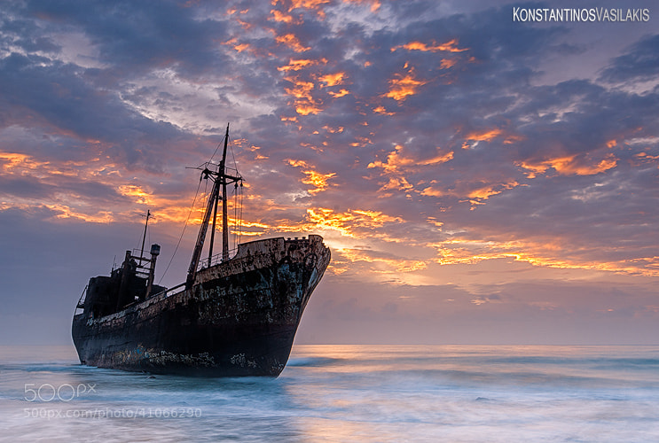 Photograph The ghost ship of Mani II by Konstantinos Vasilakis on 500px