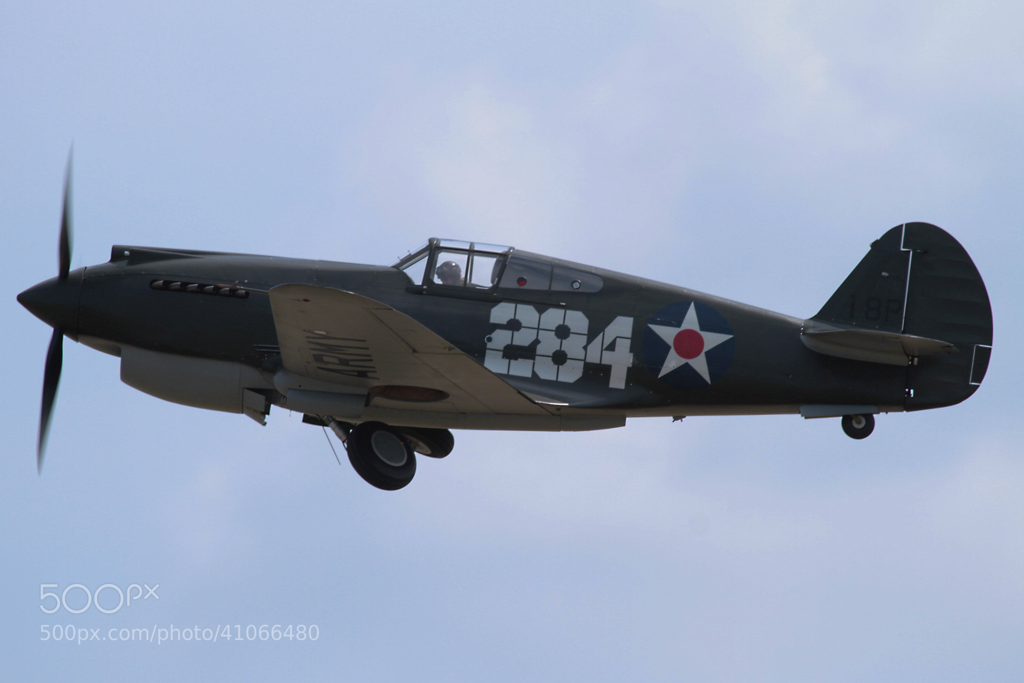Photograph Curtiss P-40B by Ian Porter on 500px