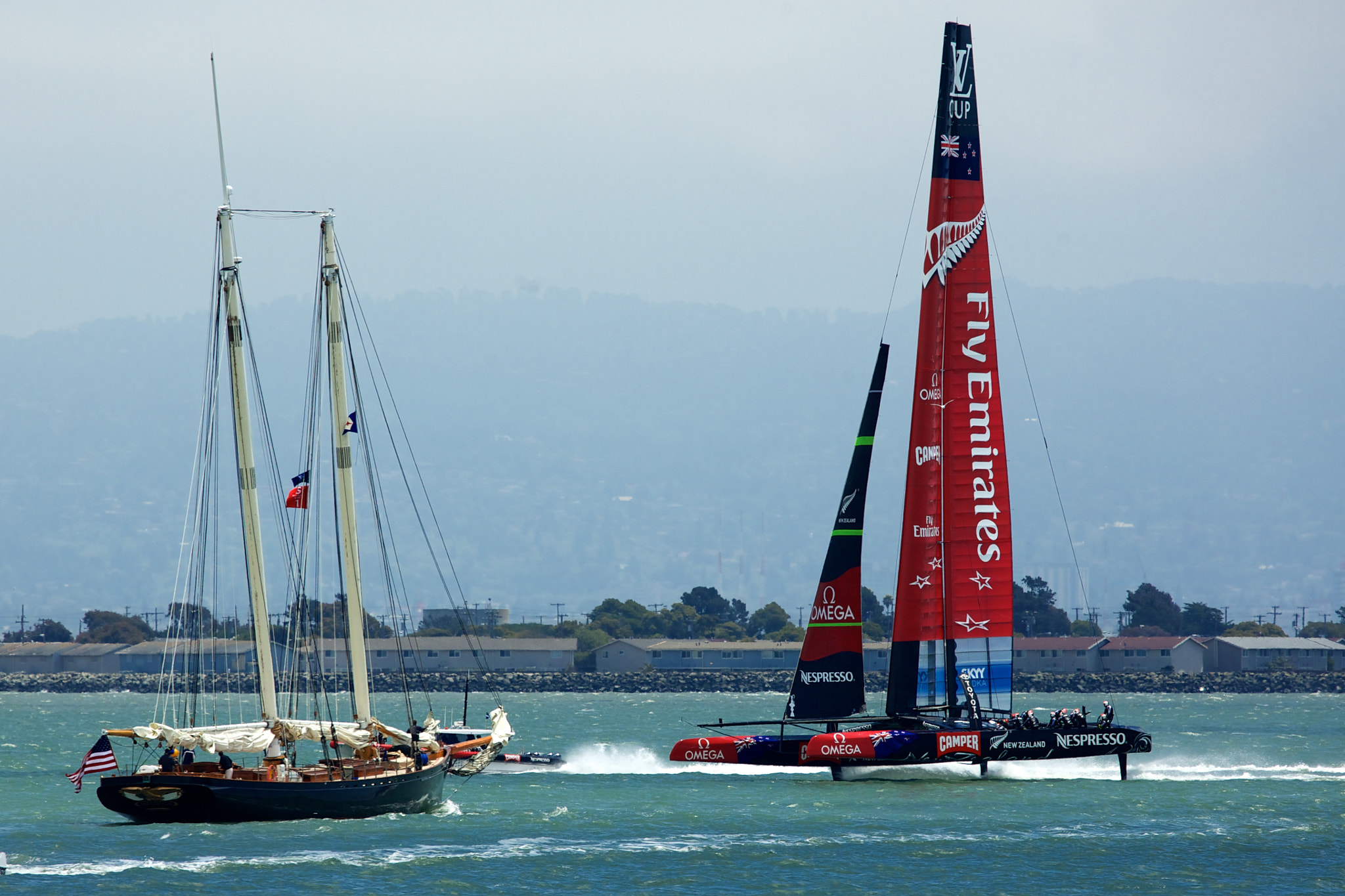 Photograph America's Cup - New Zealand and Old Sailing by mitch aunger on 500px