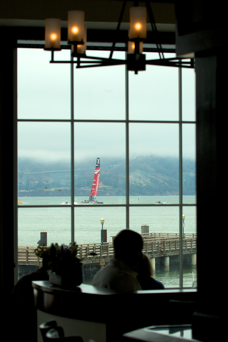 Photograph America's Cup thru the window by mitch aunger on 500px