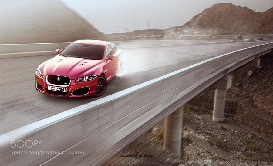 Jaguar XFR bridge drift