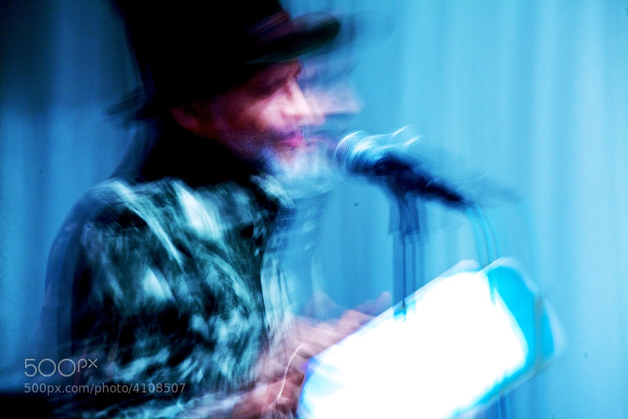 A Second With John Agard by Carl Spring (carlspringphoto) on 500px.com