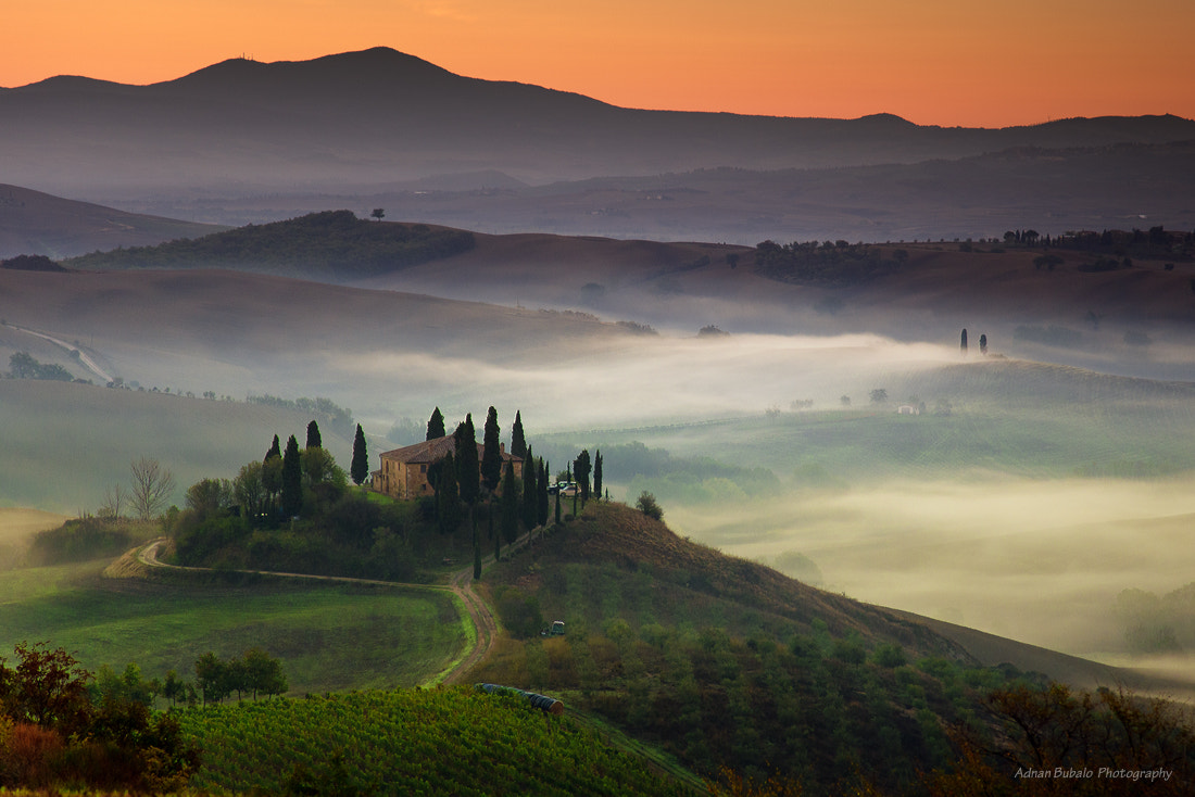 Photograph Val d'Orcia by Adnan Bubalow on 500px