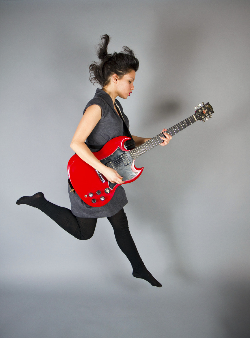 Photograph Jumping with guitar by Greg Chow on 500px