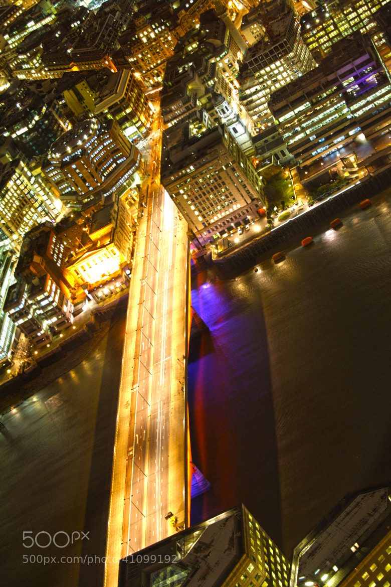 Photograph Bright lights and bridge London by Rose Smith on 500px