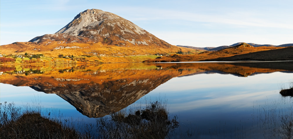 Photograph Errigal Pure Beauty by Desmond Daly on 500px