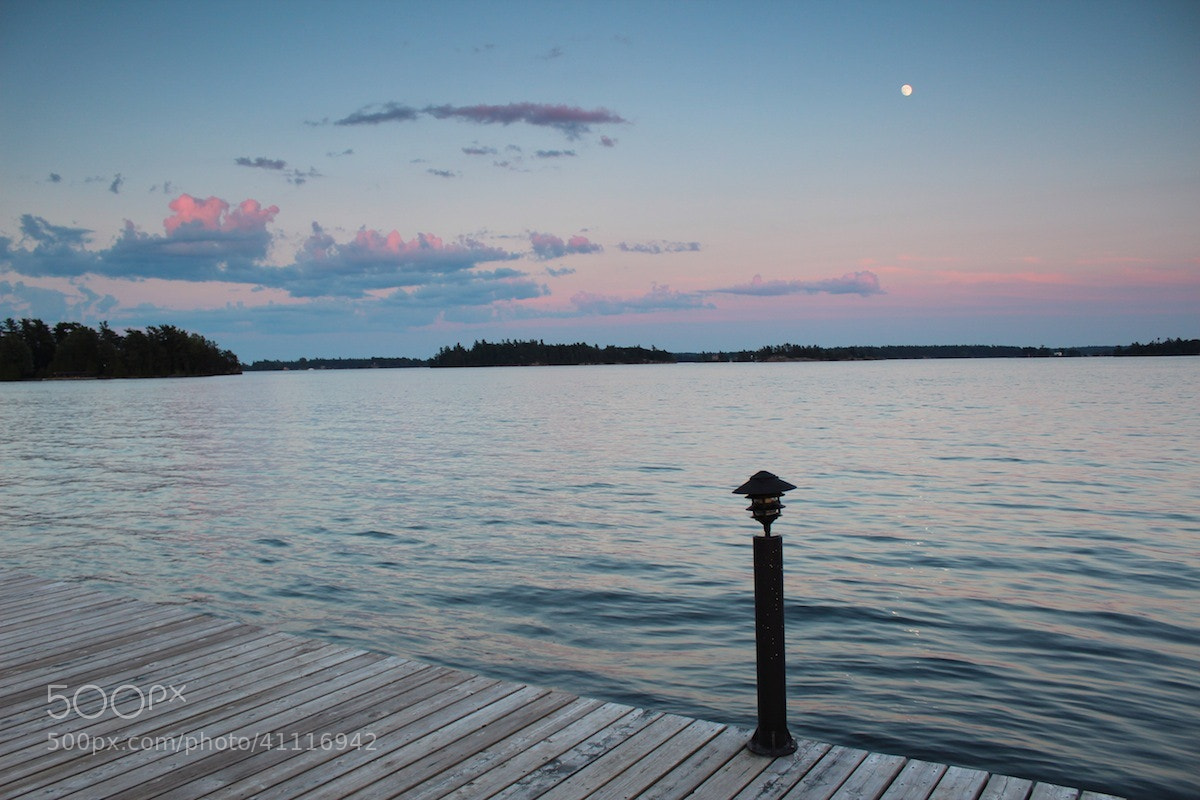 Photograph Dusk on the River by Evan Williams on 500px