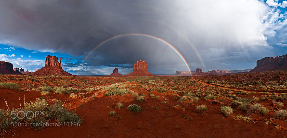 Photograph Double Monument Rainbow by Gleb Tarro on 500px