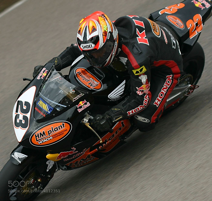 Photograph Kiyonari @ Mallory Park 2004 by Craig Watson on 500px