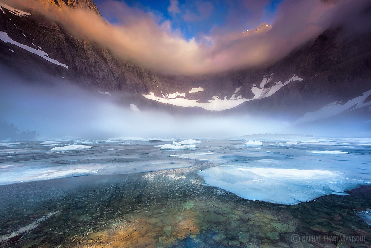 Photograph Foggy Morning at Iceberg Lake by Nae Chantaravisoot on 500px