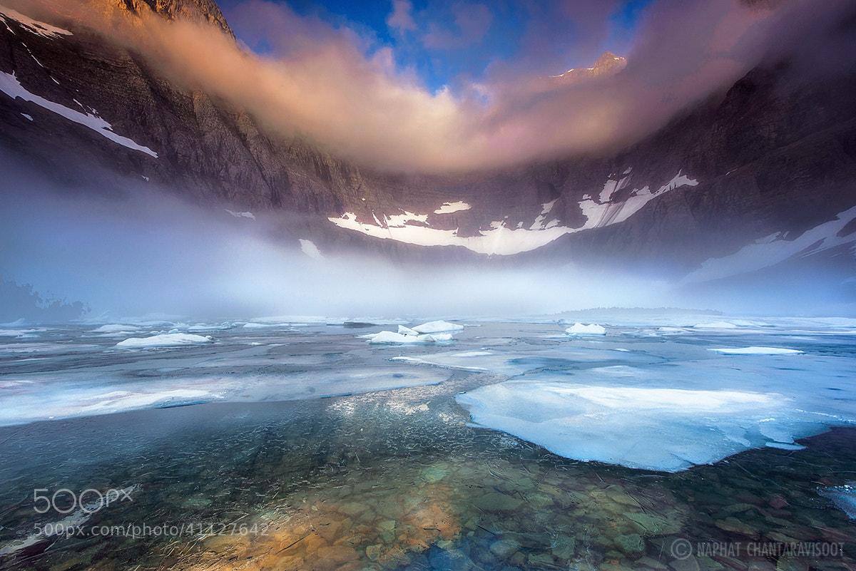 Photograph Foggy Morning at Iceberg Lake by Nae Chantaravisoot on 500px