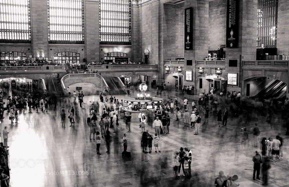 Photograph Grand Central by Kaustubh Thapa on 500px