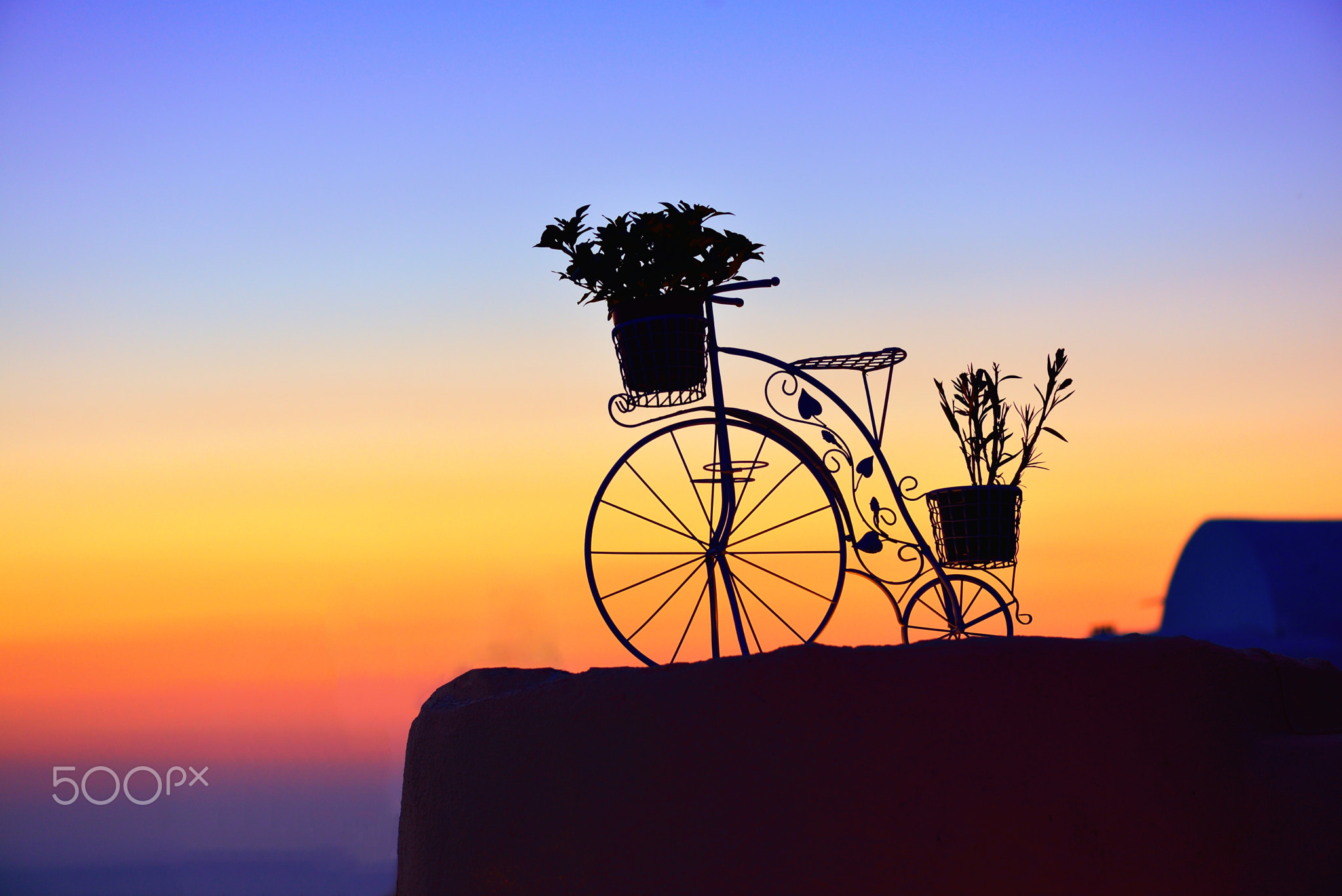 Photograph Bicycle in Oia - Santorini by Sabin Uivarosan on 500px
