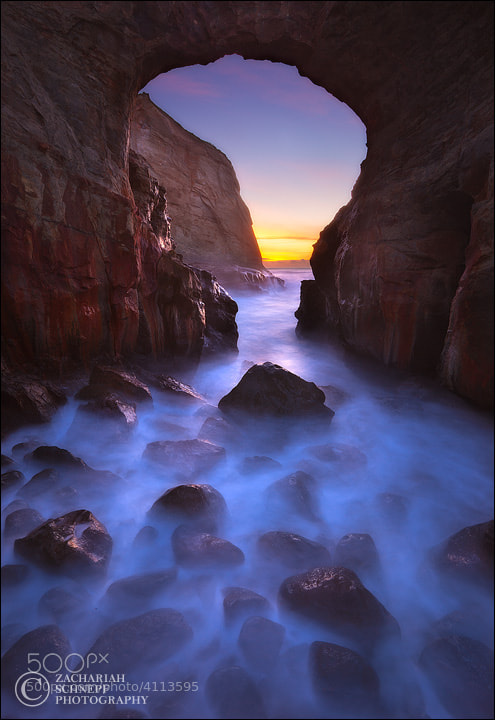 Photograph Keyhole Arch Dream by Zack Schnepf on 500px
