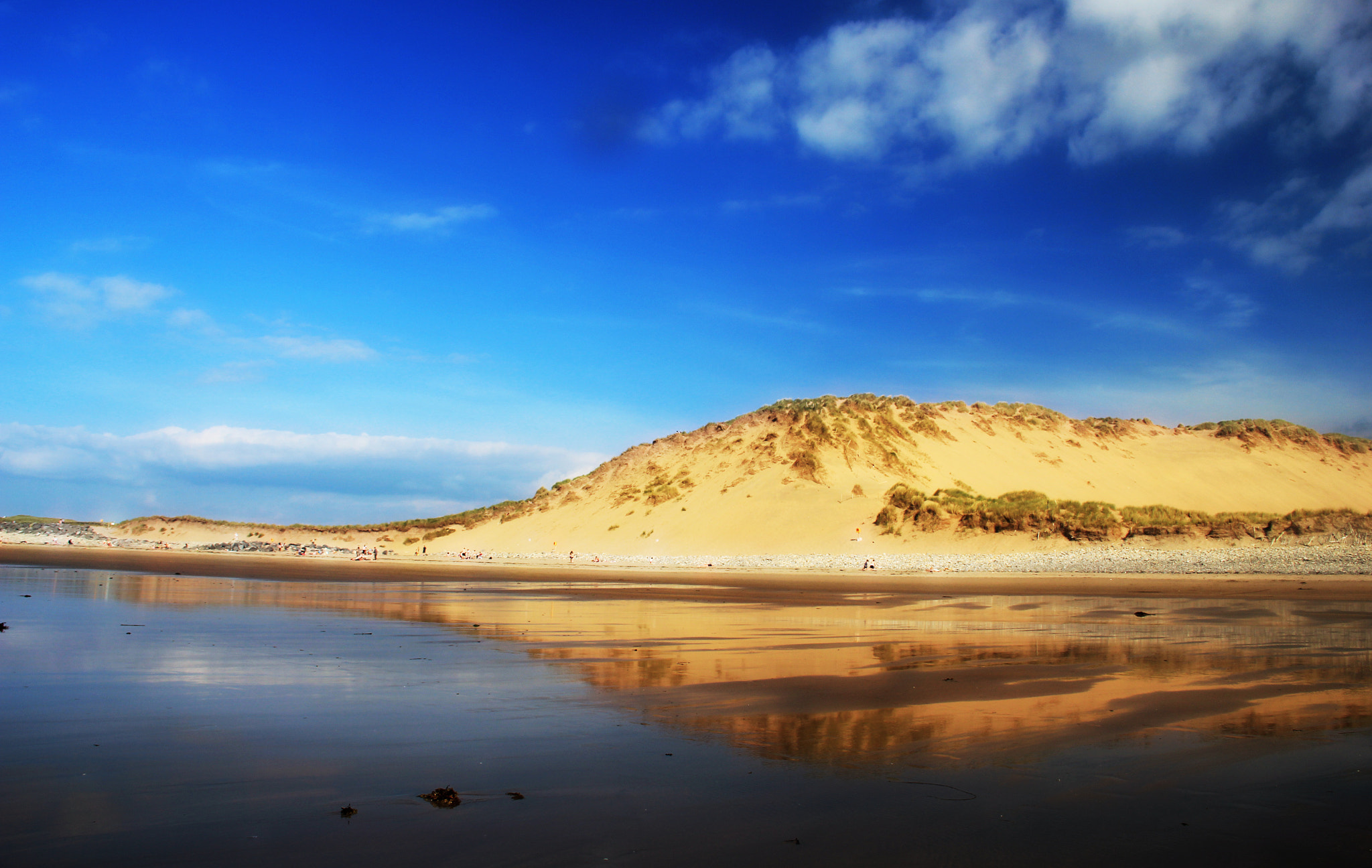 Photograph Dunes reflection by Anne Costello on 500px