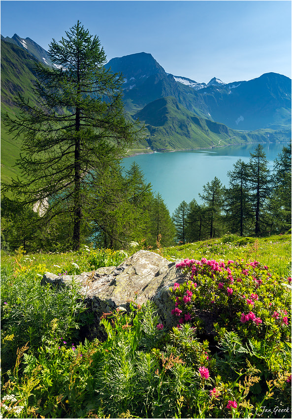 Photograph Summer in Swiss Alps by Jan Geerk on 500px