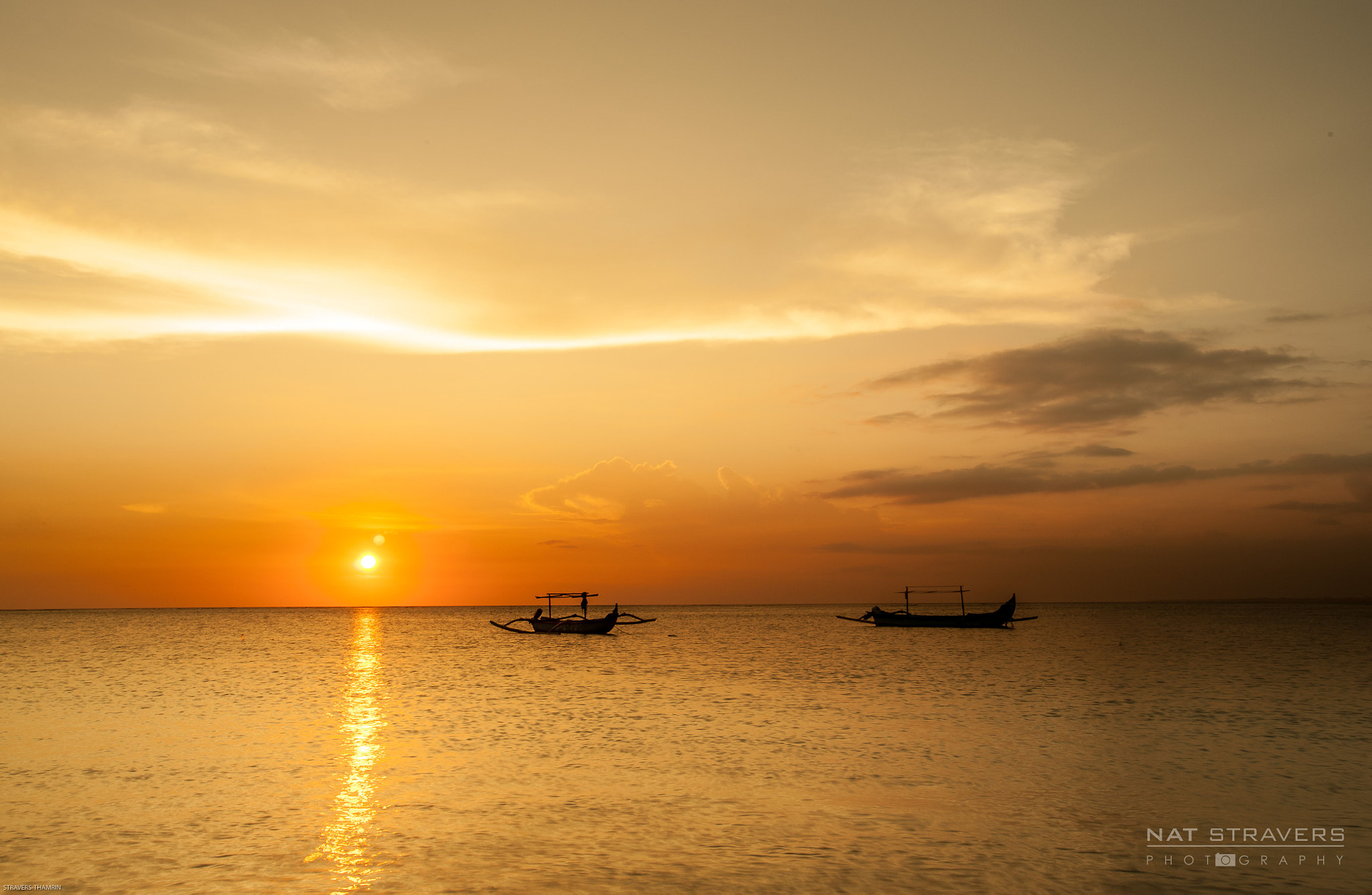 Photograph Sunset on the water ought to be a quiet and easy time by Nathalie Stravers on 500px