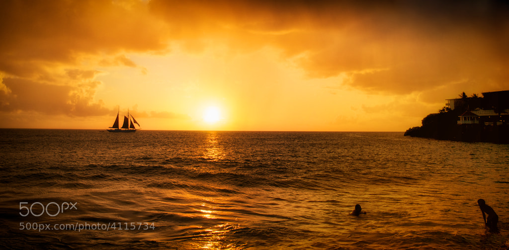 Photograph Sailing into the Sun by Duane Pandorf on 500px
