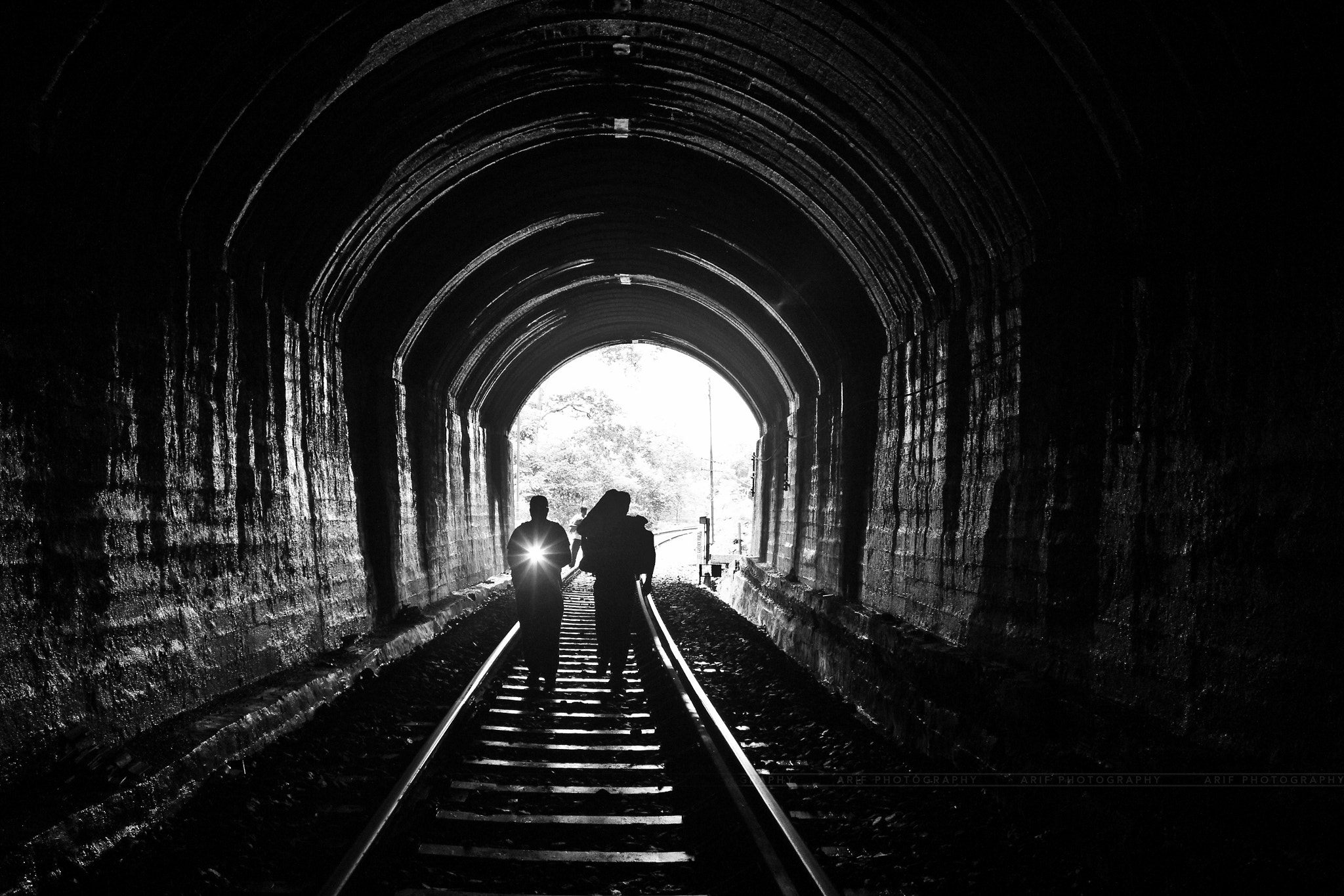 Photograph Light at the end of tunnel by Arif Mohammad on 500px