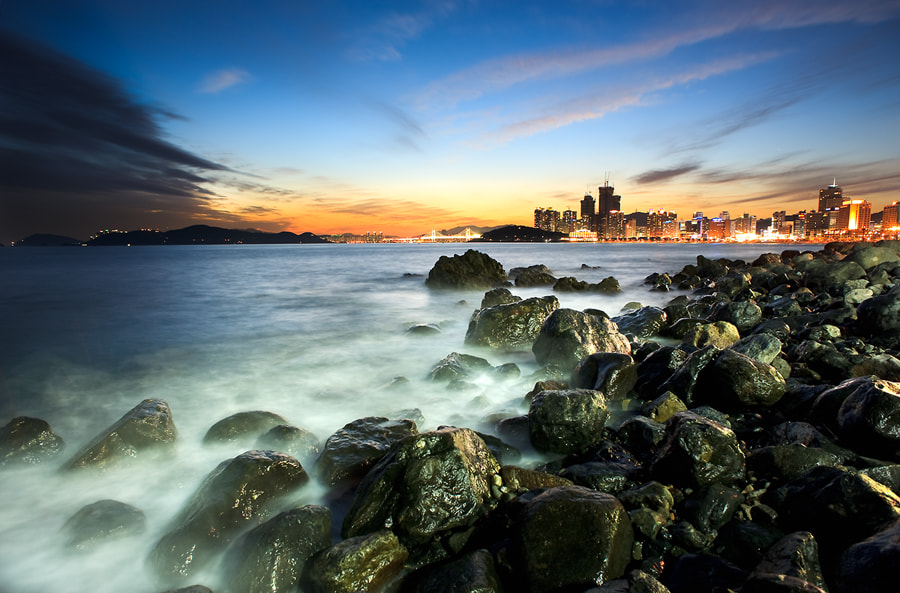 Photograph The City and the sea by Sung Chul Park on 500px
