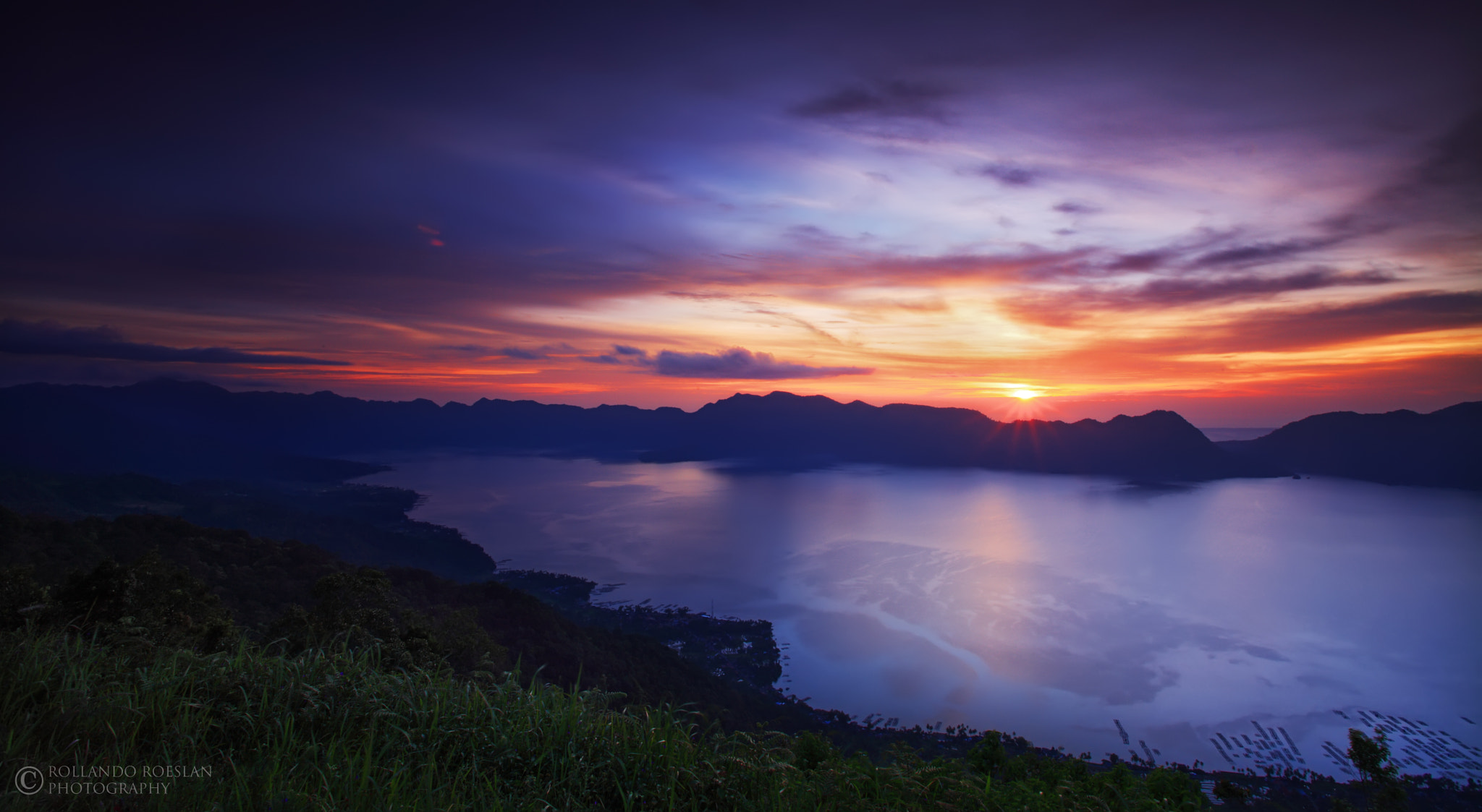 Photograph Sunset over Maninjau by Rollando  Roeslan on 500px