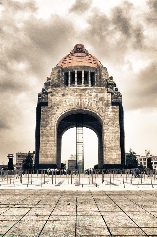 Photograph Monumento a la Revolución, Mexico CityHDR by Arturo Robles Maloof on 500px