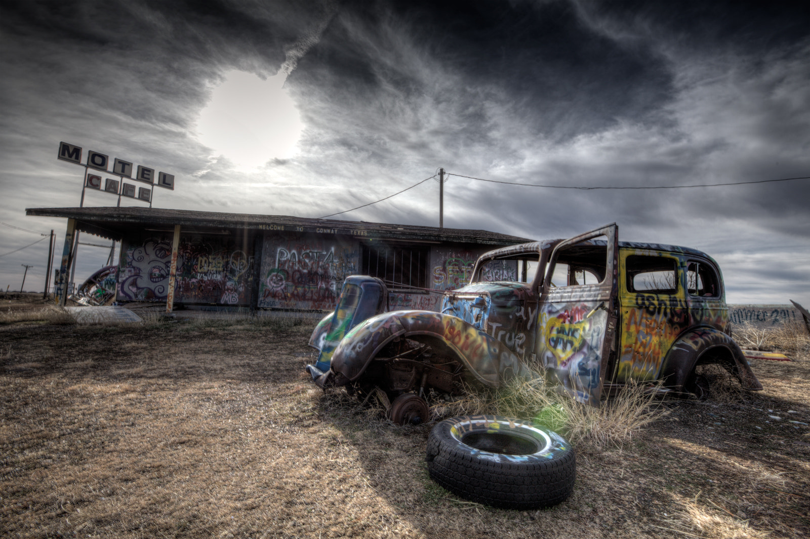Photograph Route 66 - Texas by Kumaran Alagesan on 500px