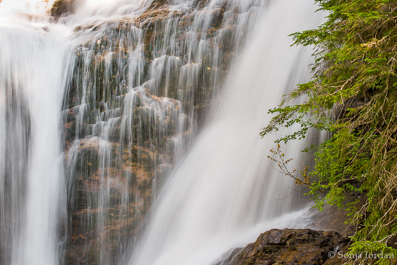 Photograph Waterfall detail by Sonja Jordan on 500px