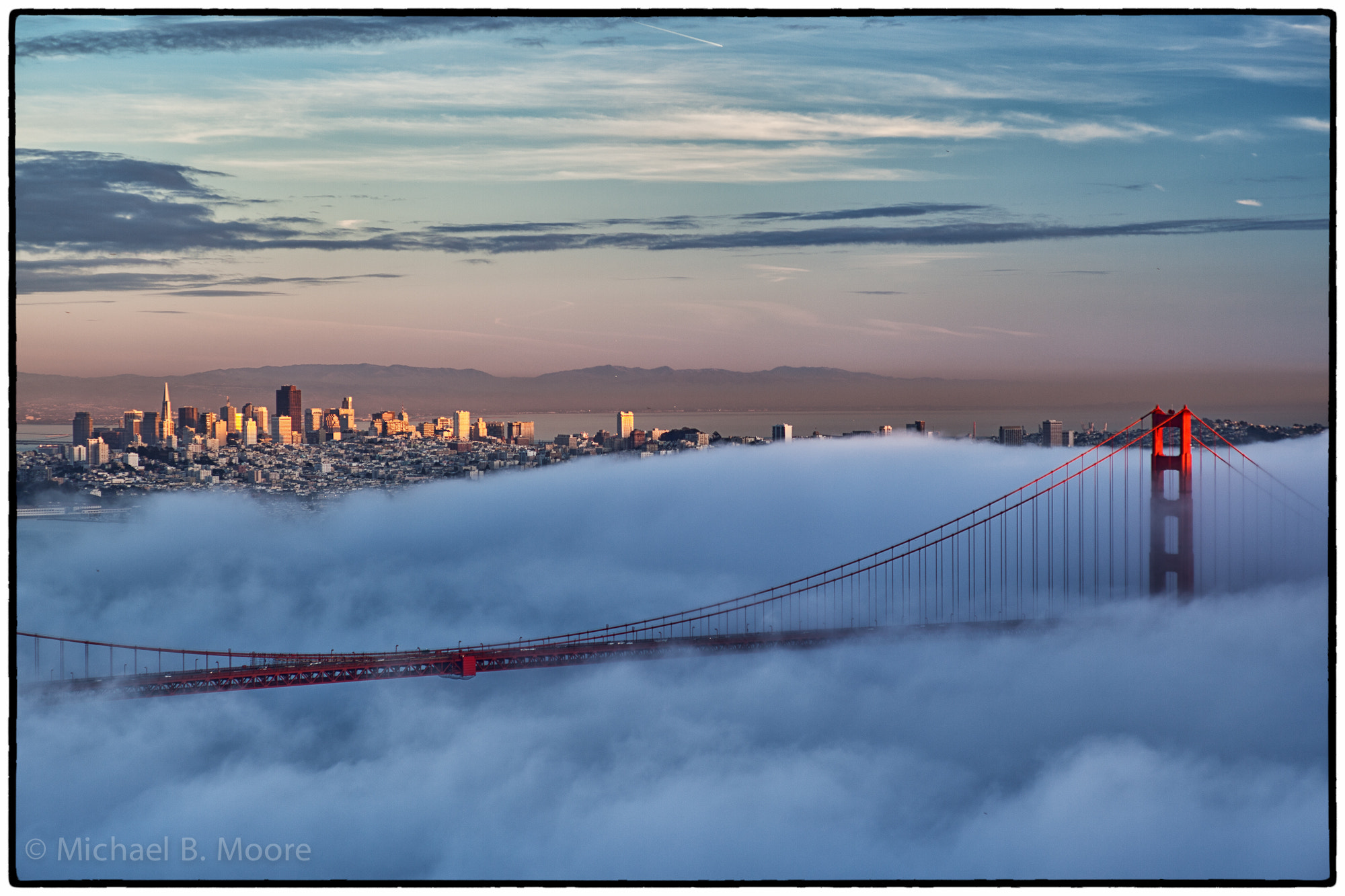 Photograph Golden Gate sunset by Michael Moore on 500px