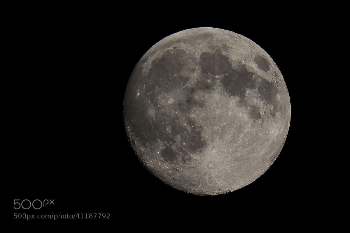 Photograph Vollmond 22.07.2013 by Guido K on 500px