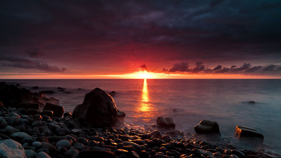 Photograph Madeira Sunset, Jardim do Mar by Magnus Larsson on 500px