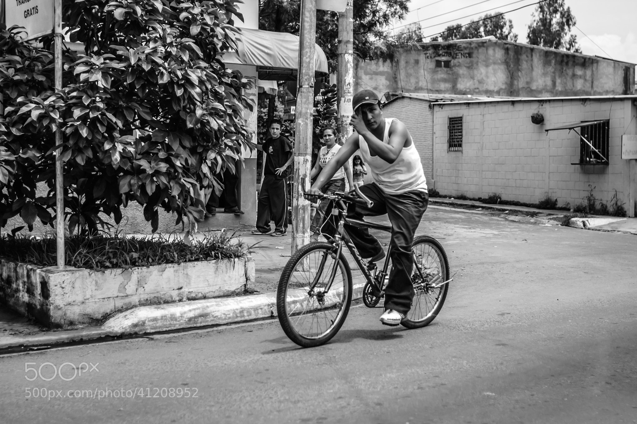 Photograph Passerby on Bicycle in El Salvador  by Matt George on 500px