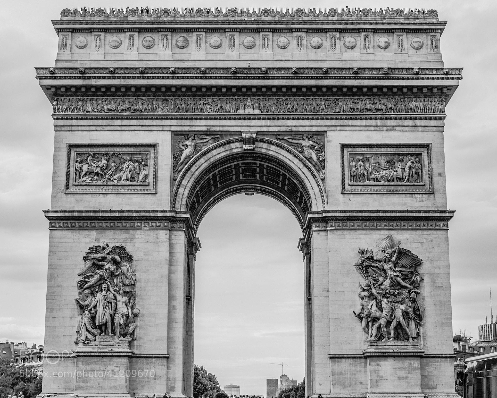 Photograph Arc De Triomphe by Matt George on 500px