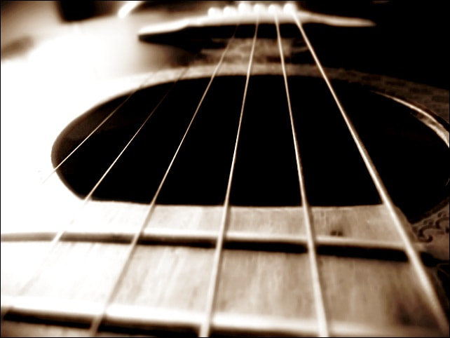 Photograph My Guitar-My Life by Poornima Narayanan on 500px