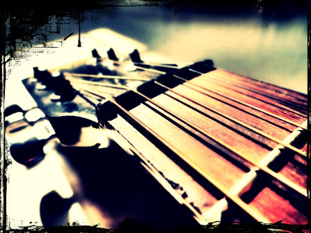 Photograph Guitar by Poornima Narayanan on 500px