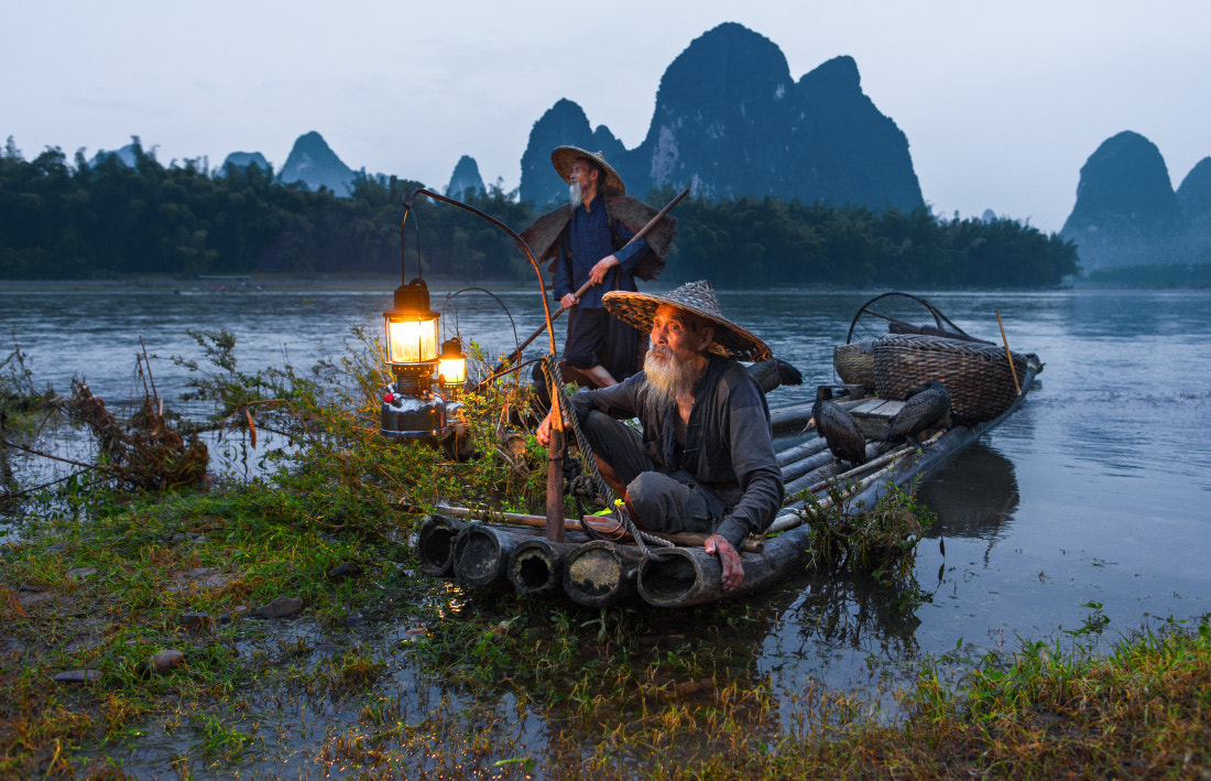 Photograph Chinese fishermen by Michail Vorobyev on 500px