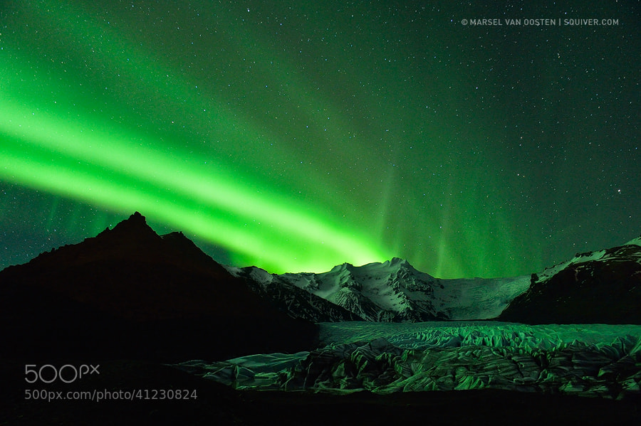 Photograph Glacier Lights by Marsel van Oosten on 500px