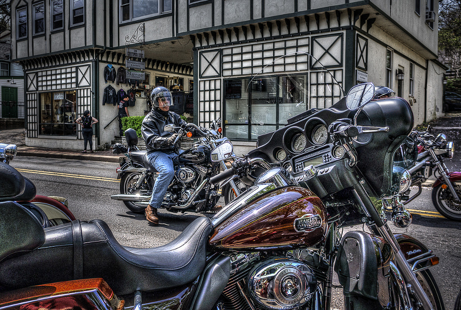 Town for bikers-2