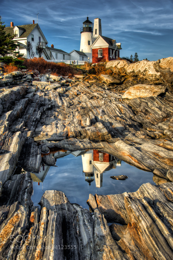 Photograph Iconic Pemaquid by Len Saltiel on 500px