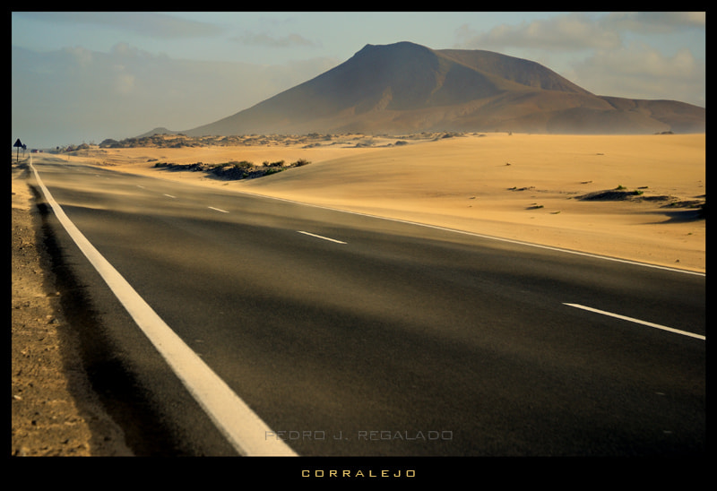 Photograph the road by Pedro J. Regalado on 500px
