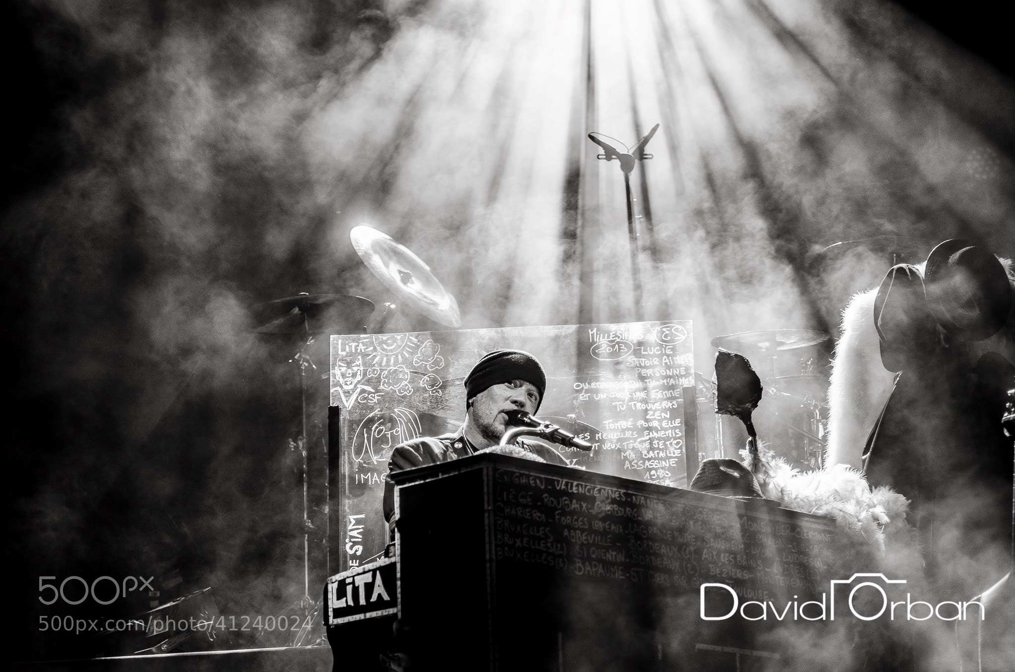 Photograph Pascal Obispo - Francofolies de Spa 2013 by David Orban-Photographe on 500px