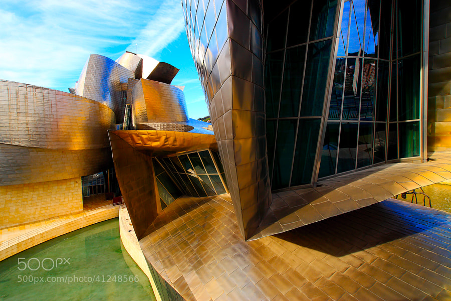Photograph Guggenheim by Andrés López on 500px