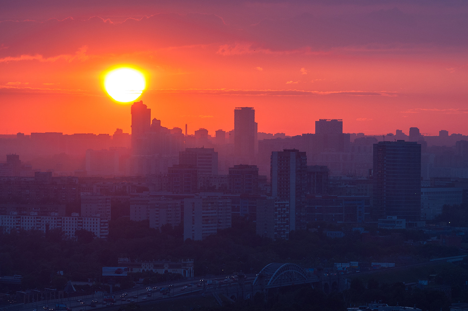 Photograph Moscow sunset by Alexei Zaripov on 500px