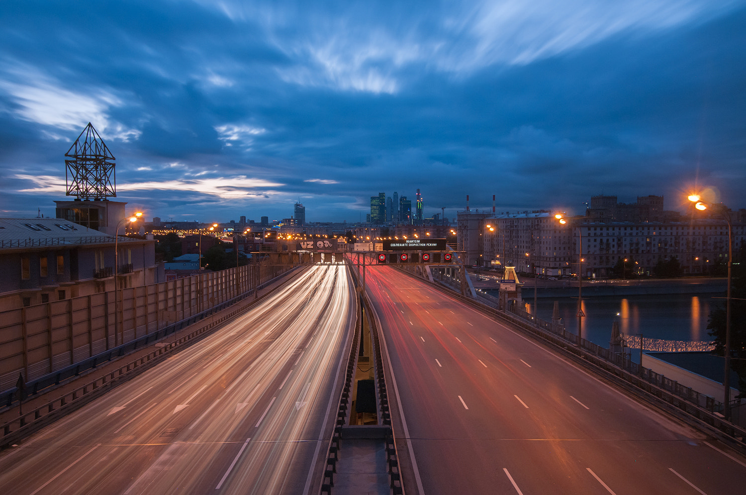 Photograph Moscow traffic by Alexei Zaripov on 500px