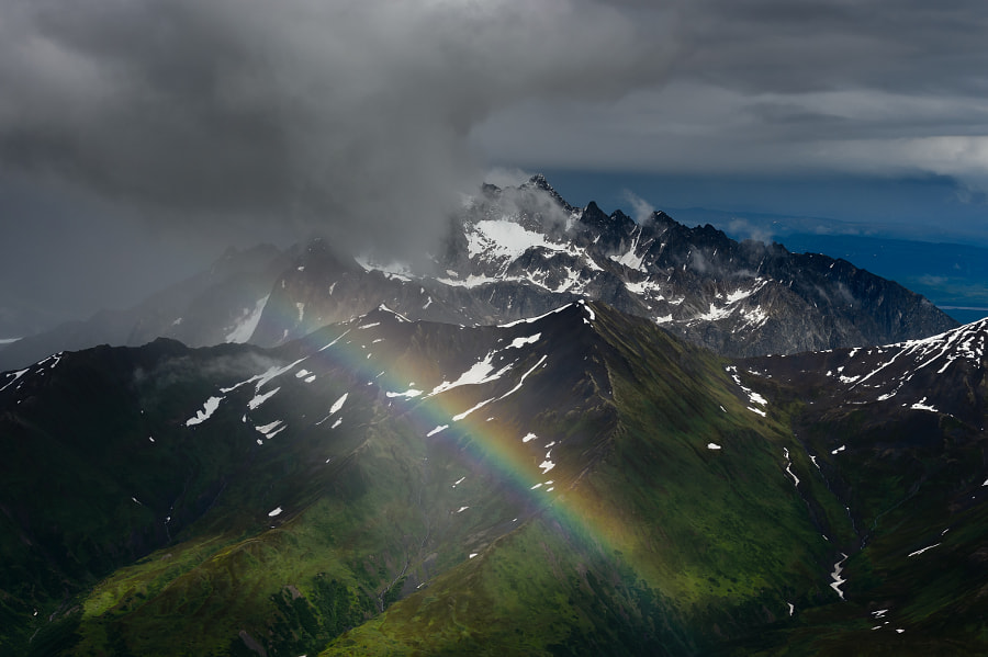 The mountain and the rainbow
