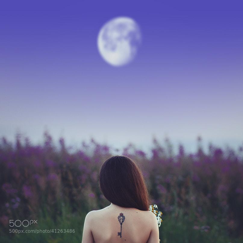 Photograph Mila Moon by Sergey Kotelnikov on 500px